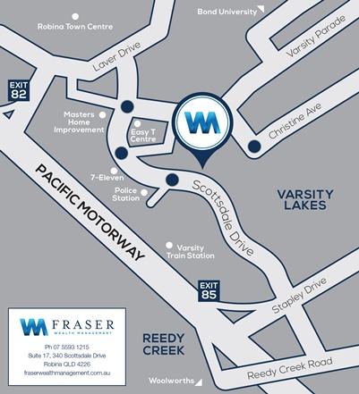 Fraser Wealth Map